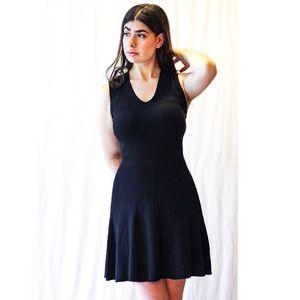 Loft Cable Knit Mini Dress